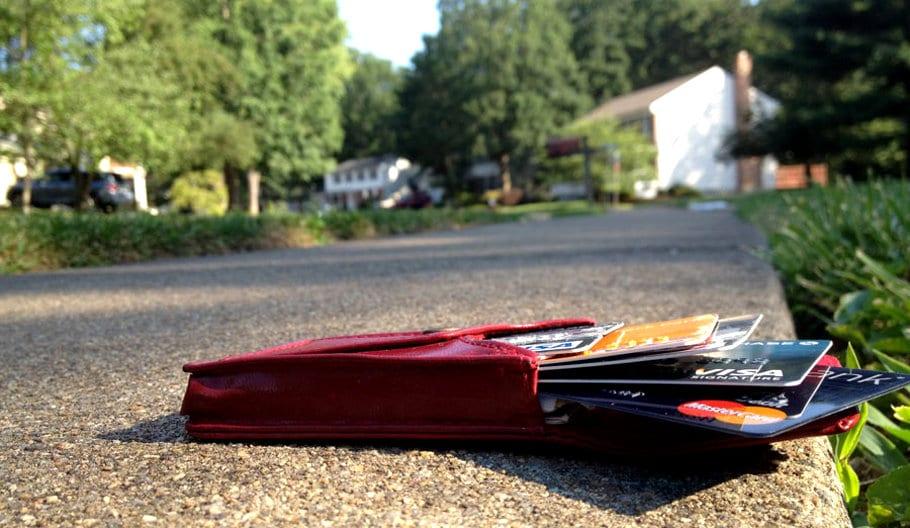 Cartão perdido ou roubado